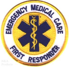 First Responder Patches