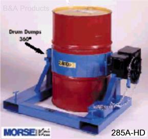 MORSE Forklift Karrier Lifts and Dumps
