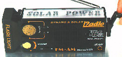 Multi-powered Emergency AM/FM Radio Receivers