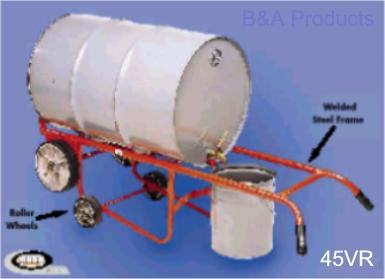 Combination Drum Truck Drainer Cradles