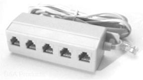 Five-Way T Connector