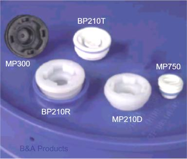 Buttress Thread Plugs for Plastic Drums