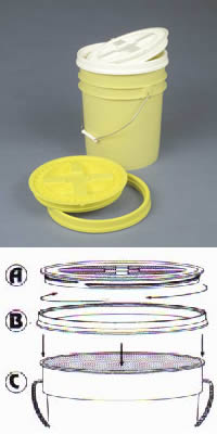 Gamma Seal Pail Covers