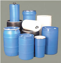 Closed-Head Plastic Drums