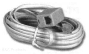 Single Jack Extension Cable