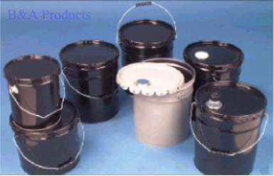 Open-Head Steel Pails and Covers