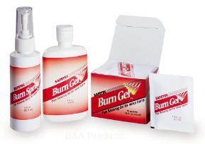 Burn Gel and Spray