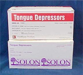 Tongue Depressors