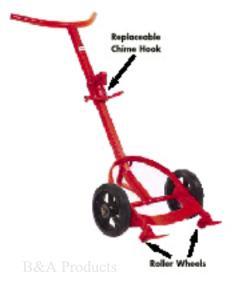 Economical Curved Handlebar Drum Truck