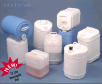 Closed Head Plastic Pails