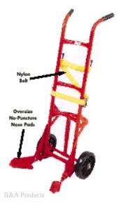 Easy-to-Maneuver Poly Drum Trucks