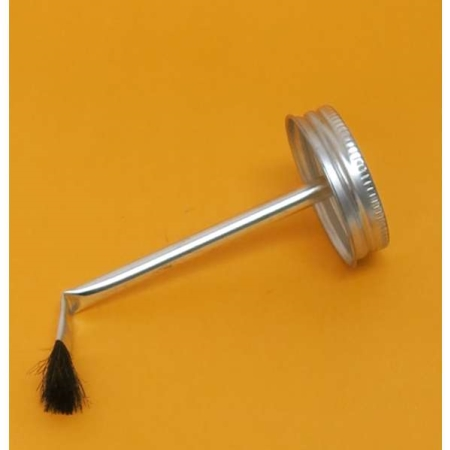 Brush Top Cap - 16 OZ.