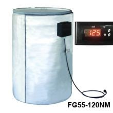 Full Coverage Insulated Poly & Fiberglass Drum Heater - 120V