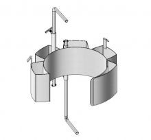 MORSE Karrier Diameter Adapter - Stainless Steel