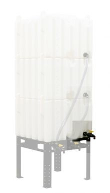 Plumbing Kit for Single Tank - Stackable Totes