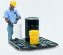 Flat Deck Pallet For SpillKing Spill Containment System