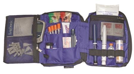 Deluxe Diabetic Supplies Organzier