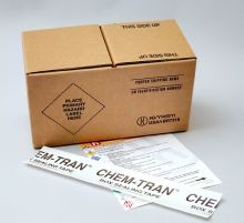 Hazmat Shipper Box Holds Two - 1 Gallon Paint Cans