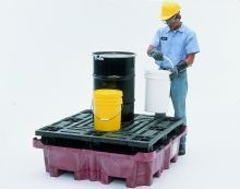 SpillKing Containment Basin With Flat Deck Pallet - No drain