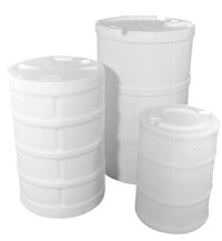 30 Gallon Closed Tight Head Plastic Drum - 30 Gallon