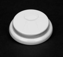 3/4 Inch Self Gasketing Hex-Head Steel Capseal - White