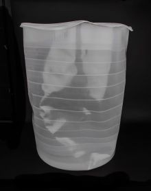 55 Gallon Slightly Ribbed Liner - Seamless - 18 mil
