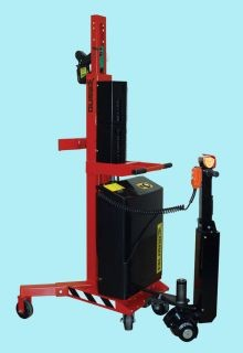 Power Lift and Drive Drum Handler - 36 Inch Lift