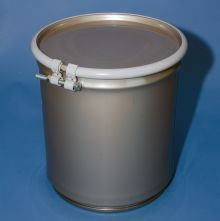 5 Gallon Open-Head Stainless Steel Drum
