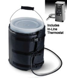 Powerblanket Insulated Pail Heater - Adjustable Thermostat