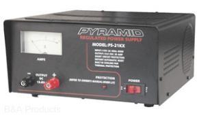 Pyramid 12 VDC power supply, 18 amp