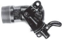 Cast Iron Gate Valve - Standard Handle - 2 Inch NPT Inlet