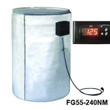 Full Coverage Insulated Poly & Fiberglass Drum Heater - 240V