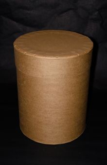 16 1/2 Gallon All-Fiber Drum - Round