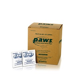 Individually Wrapped Antimicrobial Towelette Wipes