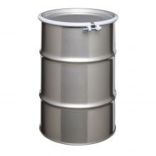 30 Gallon Open-Head Stainless Steel Drum
