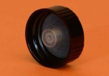 28 mm - Black Phenolic Cap With Cone Insert