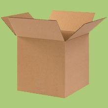 Cardboard Boxes - 8 Inch x 8 Inch x 4 Inch