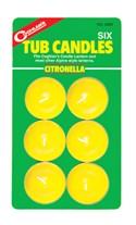Citronella Tub Candles