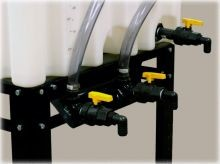 Plumbing Kit for Three Tank - Stackable Totes