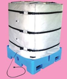 Wrap-Around Heater for Plastic IBC Tote Tank - 42 Inch H - 120V