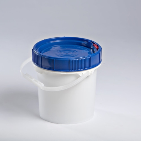 1.25 Gallon New Generation White Pail with White Lifelatch Lid