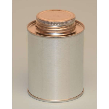 1/2 Pint Screw Top Utility Metal Can