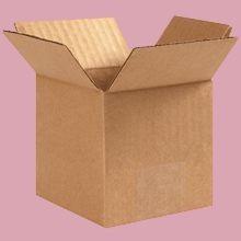 Cardboard Boxes - 8 Inch x 8 Inch x 6 Inch