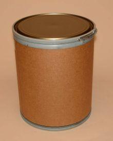 15 Gallon Greif Lok-Rim® Fiber Drum - Metal Cover