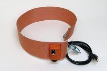 Silicone Rubber Drum Heater - 4 Inch Wide - 15 Gallon