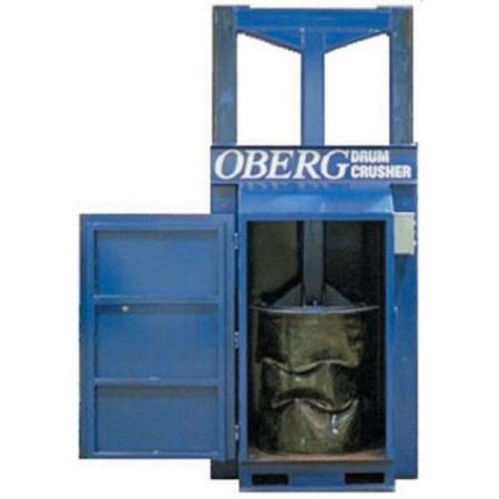 Oberg Drum Crusher and Compactor Electric
