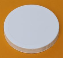 100 mm - White Polypropylene Screw Cap