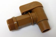 Flo-Rite 3/4 Inch Polyethylene Drum Faucets - Gold