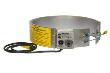 EXPO Electric Drum Heater - Infinite (Variable) Control - For 30 Gallon Steel Drums