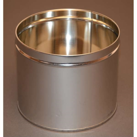 5 lb Industrial Metal Tin